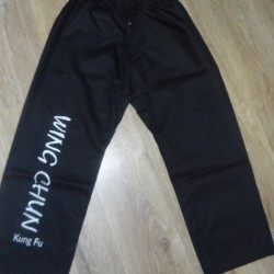 Pantalon Noir de Wing Chun