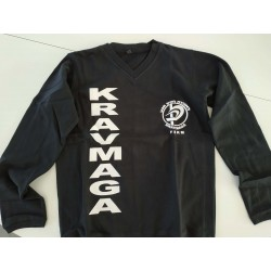 Sweat-shirt Noir Krav Maga